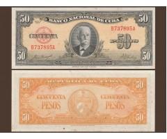 Куба 50 песо 1958 год
