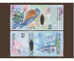 Бермудские острова 2 доллара 2009 год
