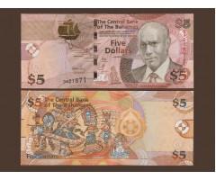 Багамские острова 5 долларов 2007 год