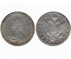 Полуполтинник 1779 года СПБ ФЛ