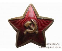 Звезда на головной убор РККА обр.1922 г.