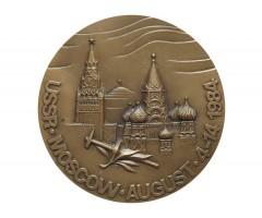 Настольная медаль XXVII Международный геологический конгресс