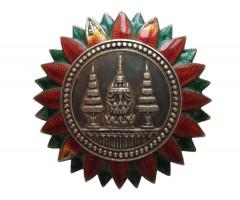 Звезда 1-го типа 2 класса (для дам?) ордена Короны Таиланда