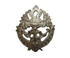 Петличная эмблема закавказской железной дороги