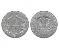 Австрия 2 шиллинга 1947 года