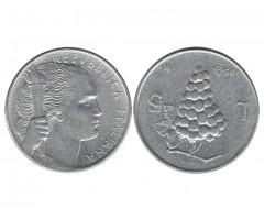 Италия 5 лир 1950 года