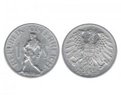 Австрия 1 шиллинг 1952 года