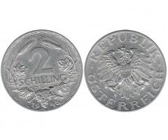 Австрия 2 шиллинга 1946 года