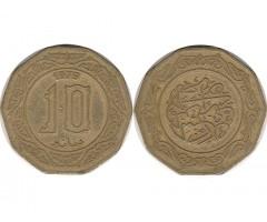 Алжир 10 динаров 1979 года
