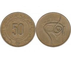 Алжир 50 сантим 1980 года
