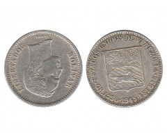 Венесуэла 1/4 боливара 1945 года
