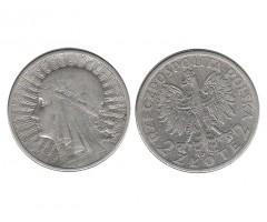 Польша 2 злотых 1934 года