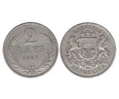 Латвия 2 лата 1925 года