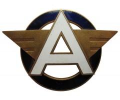 Знак на головной убор водителя автобуса Эстонская ССР
