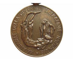 Италия медаль 20 годовщина освободительной войны - штурмовой бригады Гаррибальди