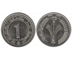 Алжир 1 динар 1987 года