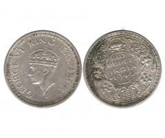 Индия 1/2 рупии 1945 года