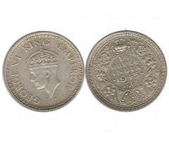 Индия 1/4 рупии 1945 года