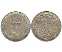 Индия 1/4 рупии 1944 года