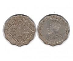Индия 1 анна 1914 года