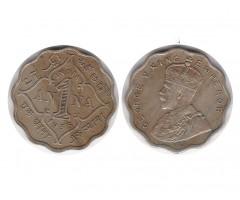 Индия 1 анна 1935 года