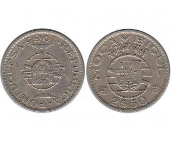 Мозамбик 2,5 эскудо 1965 года