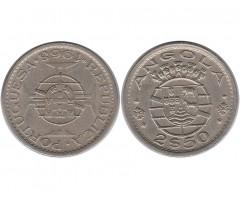 Ангола 2,5 эскудо 1968 года