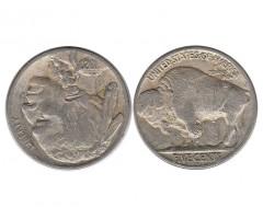 США 5 центов 1920 года