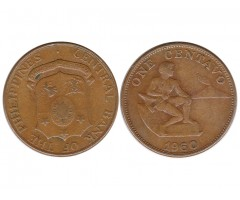 Филиппины 1 сентаво 1960 года