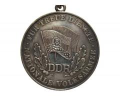 ГДР медаль за верную службу в Народной армии 2-й степени + диплом