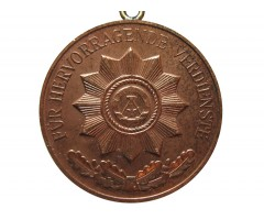 Медаль за выдающиеся заслуги в Министерстве Внутренних Дел (бронза)