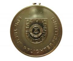 Медаль за преданное исполнение долга в Гражданской Обороне (золото)