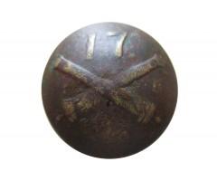 Пуговица полевой и гарнизонной артиллерии № 17