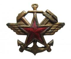 Эмблема железнодорожных войск и ВОСО
