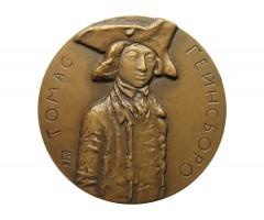 Настольная медаль 250 лет со дня рождения Томаса Гейнсборо