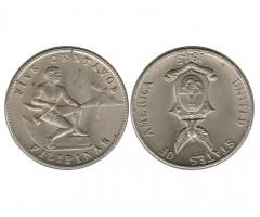 Филиппины 5 сентаво 1945 года