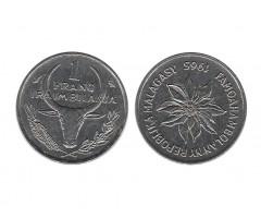 Мадагаскар 1 франк 1965 года