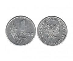 Польша 1 грош 1949 года