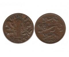 Эстония 1 сент 1929 года