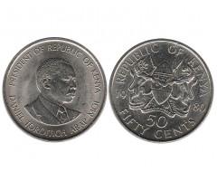 Кения 50 центов 1980 года