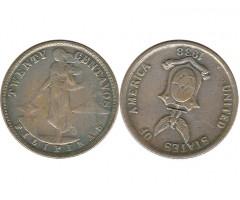 Филиппины 20 сентаво 1938 года