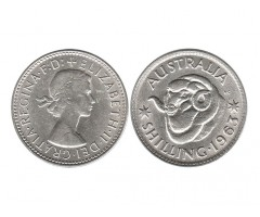 Австралия 1 шиллинг 1963 года