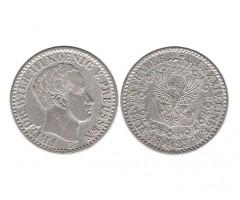 Пруссия 1/6 талера 1827 года