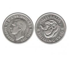 Австралия 1 шиллинг 1950 года