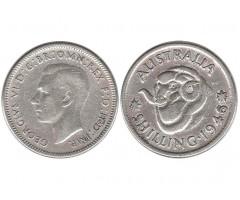 Австралия 1 шиллинг 1946 года