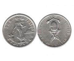 Филиппины 10 сентаво 1945 года