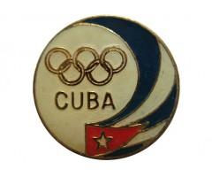 Значок олимпийской сборной Кубы