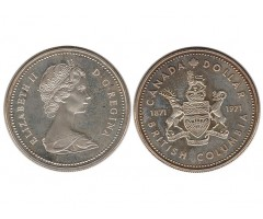 Канада 1 доллар 1971 года