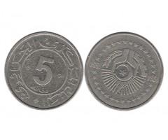 Алжир 5 динаров 1984 года