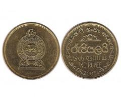 Шри-Ланка 1 рупия 2005 года